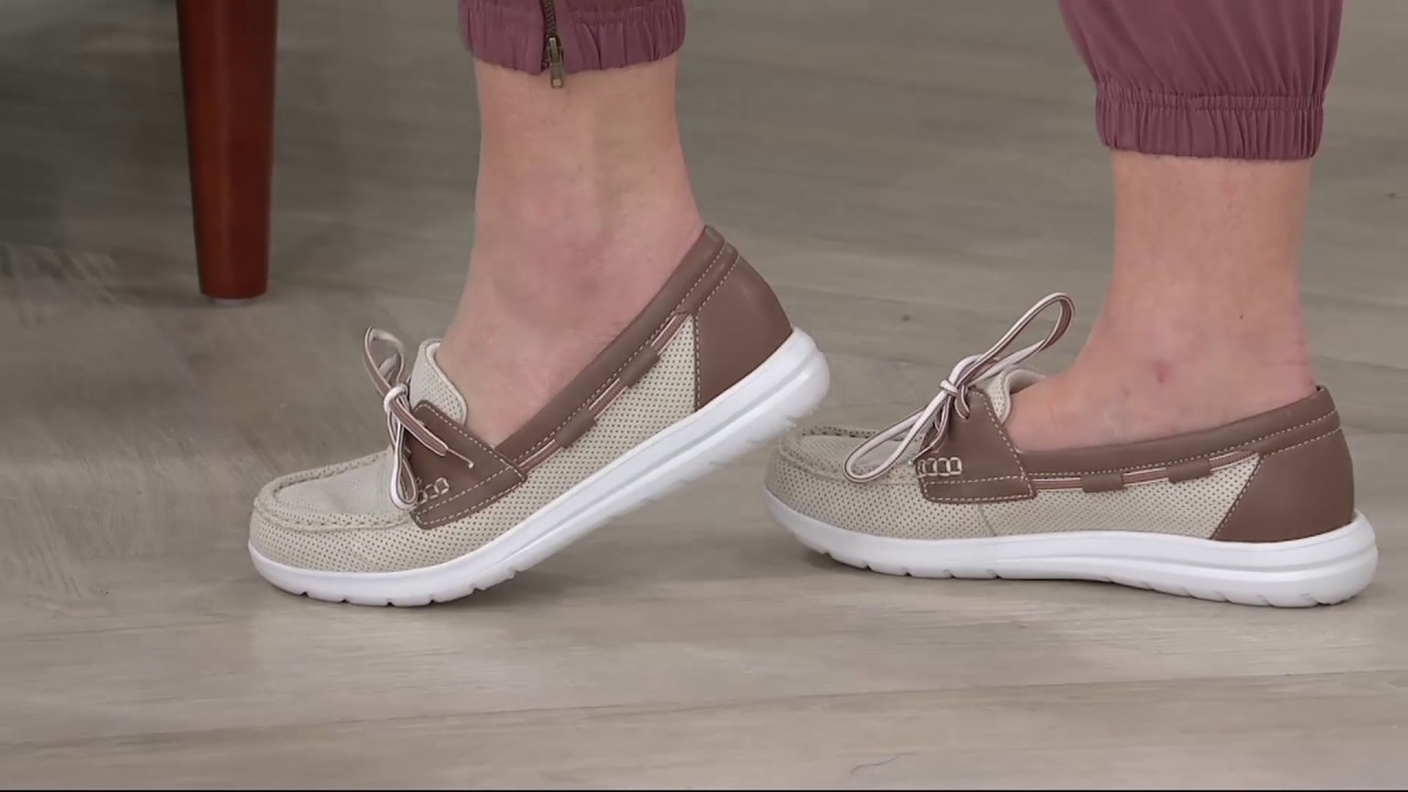 Clarks Cloud Steppers Boat Shoes