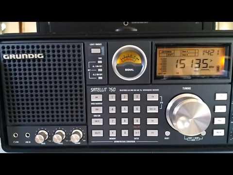 Shortwave broadcast of Radio Unmee Ethiopia from United Arab Emirates @ 15135 kHz