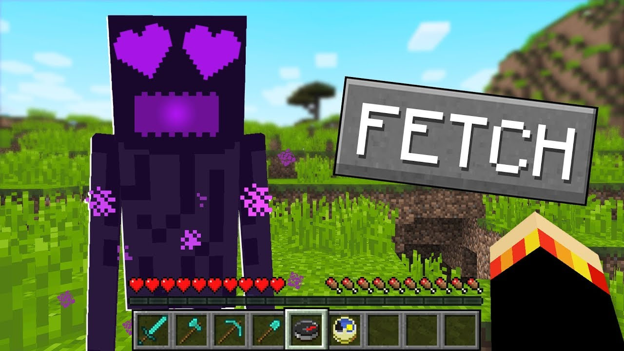 How to tame a Pet ENDERMAN in Minecraft!
