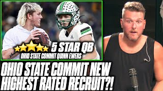 Pat McAfee Reacts: Ohio State Commit Is Said To Be The Next Great NFL QB