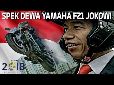 JOKOWI HEBOHKAN DUNIA DI ASIAN GAMES PAKE MOTOR INI!! | YAMAHA FZ1 PASPAMPRES NKRI