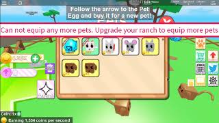 Roblox All Codes in Pet Ranch Simulator