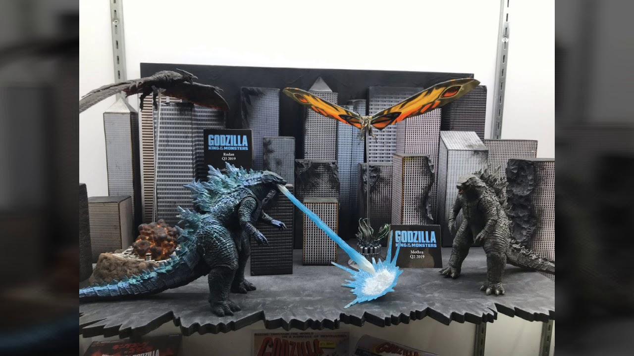 New Neca Godzilla King Of Monsters 2019 Figures Pics