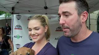 Kate Upton and Justin Verlander talk about their love for dogs