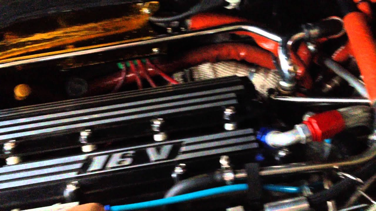 Peugeot 405 T16 Engine - YouTube