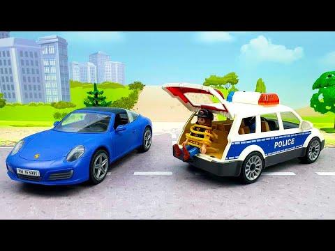 Мультики с игрушками - Честный полицейский. Игрушечные видео смотреть онлайн.