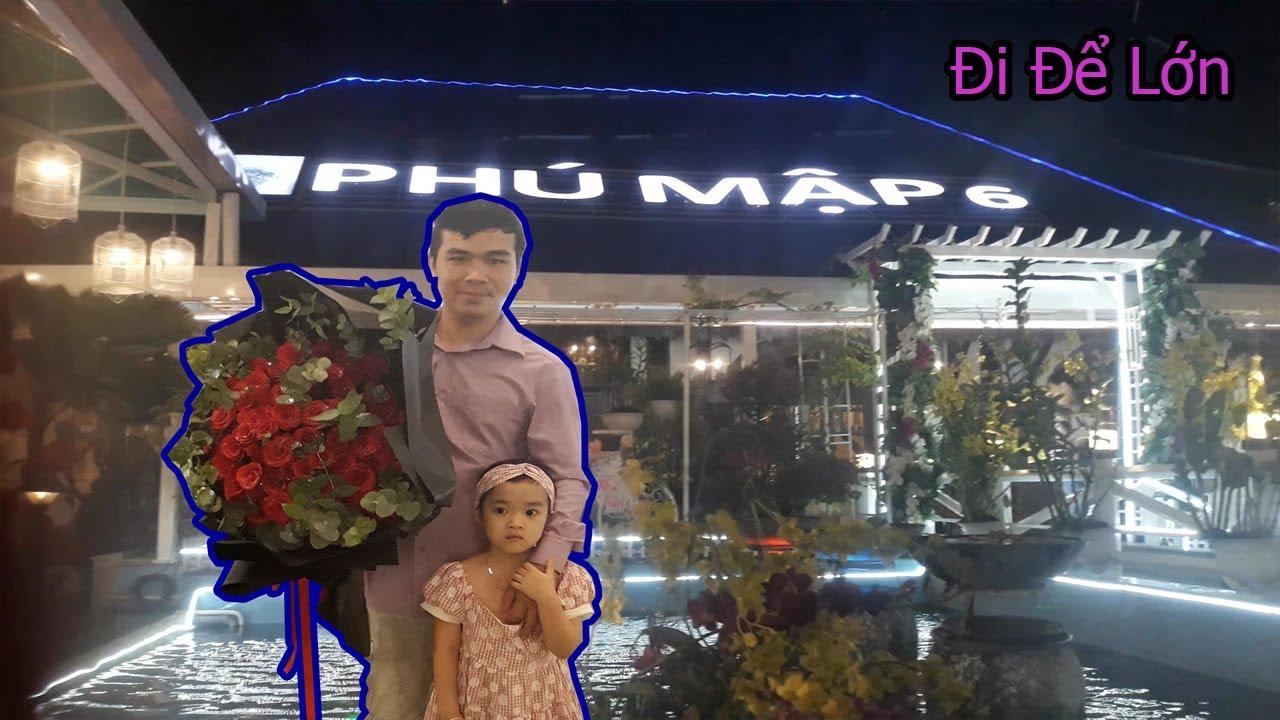 Bé Gia Hân đi mừng sinh nhật cô Cẩm Ly tại nhà hàng Phú Mập 6
