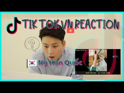 Người Hàn lần đầu xem CỰC HOT trên Tik Tok Việt Nam || Korean Reaction  베트남 틱톡 리액션 3탄!