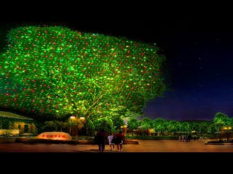 Laser Christmas Lights & Outdoor Holiday Projectors
