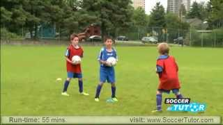 youth academy training program u5 8 dvd new methodology from italian serie a coaches