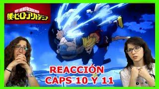 BOKU NO HERO S3 REACTION caps 10 y 11 - TODOS con ALL MIGHT!! PLUS ULTRA!!