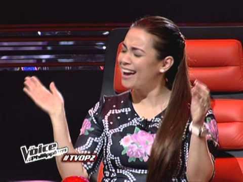 Joniver Robles serenades Lea Salonga on Voice PH