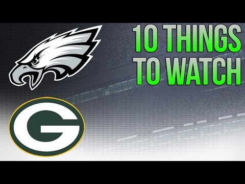 Eagles vs Packers - Week 12 - 10 Things Eagles NEED to do to WIN!