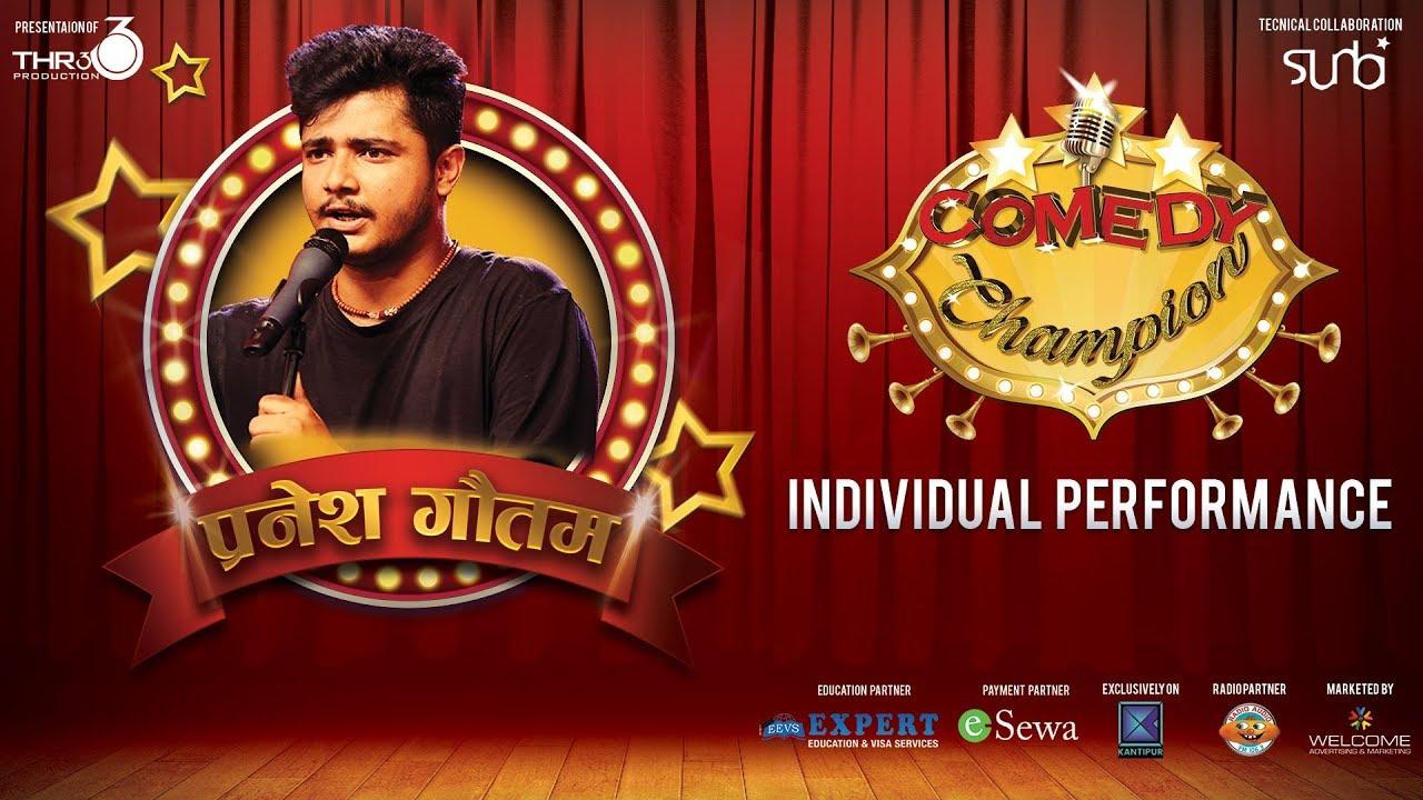 Pranesh Gautam - Top 8 - Individual Performance