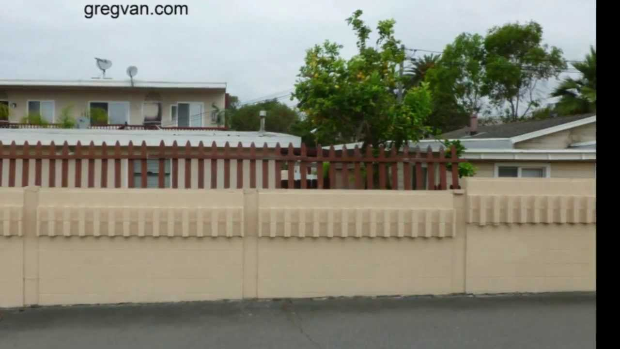 Reason to extend the height of a block wall home security youtube baanklon Gallery