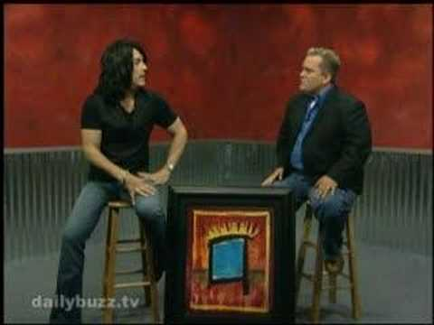Paul Stanley (Kiss) Interview on The Daily Buzz part 1