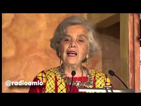 Discurso completo de Elena Poniatowska durante la entrega del Premio Cervantes.