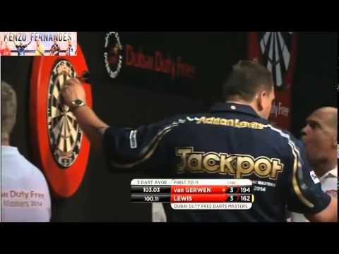 PDC World Series 2014 - Dubai Duty Free Darts 2014 - Semi Final - van Gerwen VS Lewis