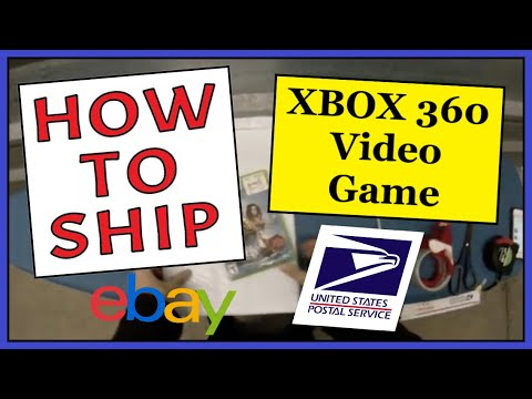 How To Ship an XBOX 360 Video Game   Easy, Fast & Cheap   USPS First Class Shipping Padded Envelope