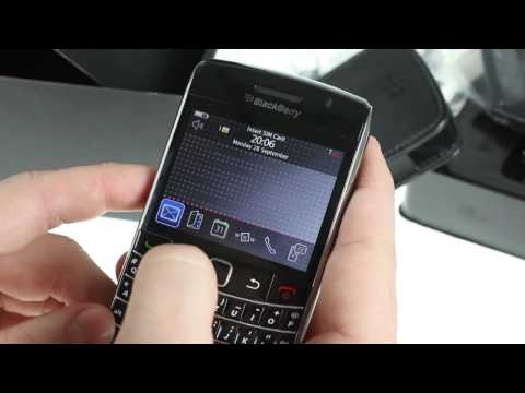 BlackBerry Bold 9700 unboxing