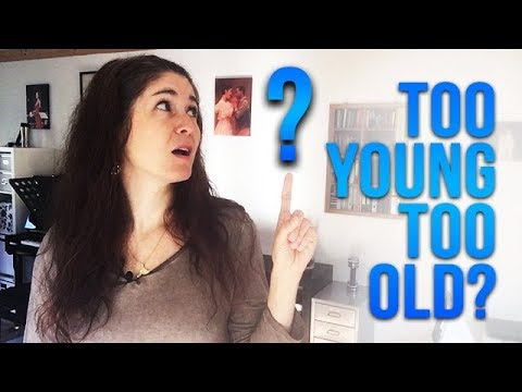 Are you ever too YOUNG or too OLD to SING?