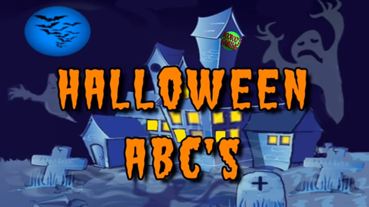 Halloween Begriffe Halloween Abc S Scary Alphabet Spooky Phonics Preschoollearning Educational Video For Kids