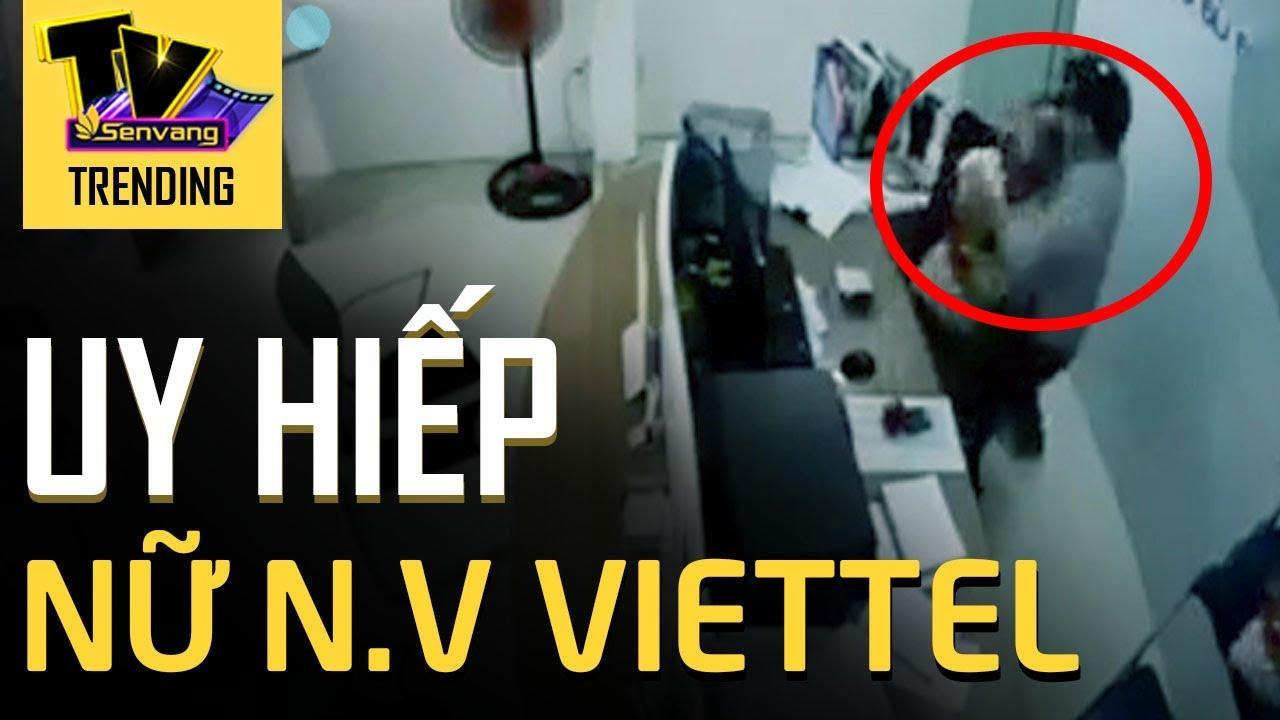 Clip ngưỡng mộ nữ nhân viên Viettel chống trả cướp kề d.a.o vào cổ