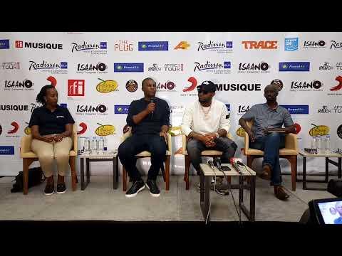 Davido Press Conference Live in Kigali