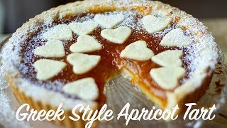 Pasta Flora: Greek Style Apricot Preserve Tart
