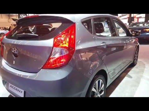 2016 Hyundai Accent Hatchback Exterior 2016 Chicago Auto Show