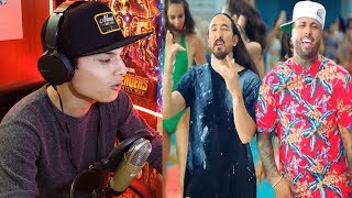 Jaleo - Nicky Jam X Steve Aoki    Reaccion !