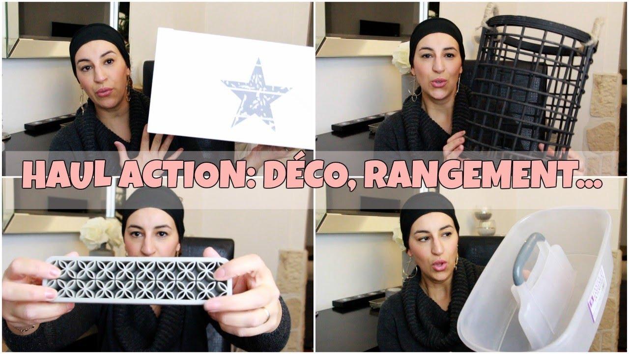 Haul Action Deco Rangement Organisation Youtube
