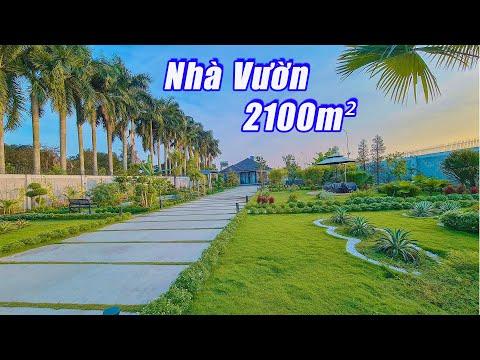 Nhà Vườn XANH - Nghỉ Dưỡng - Thiết Kế Lạ Ở Củ Chi HCM | BĐS Minh Land