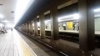 阪急7000系 到着&発車