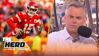 Colin plays '2 Truths & a Lie,' discusses Pat Mahomes' draft position   THE HERD   LIVE FROM MIAMI