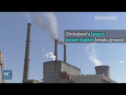 Largest in Zimbabwe! Chinese company breaks ground on power station