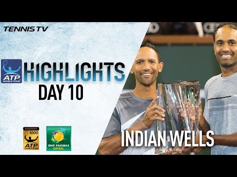 Highlights: Klaasen and Ram Take Doubles Title At Indian Wells 2017