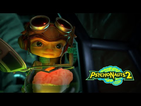 Psychonauts 2 // Brain in a Jar Trailer