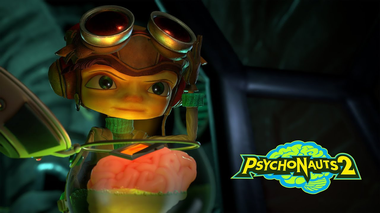 Psychonauts 2 - Brain in a Jar Trailer