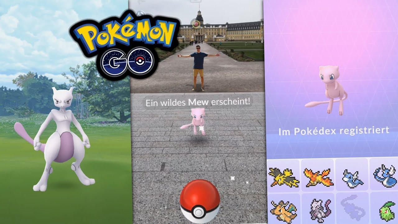 Mew Fangen Pokemon Go