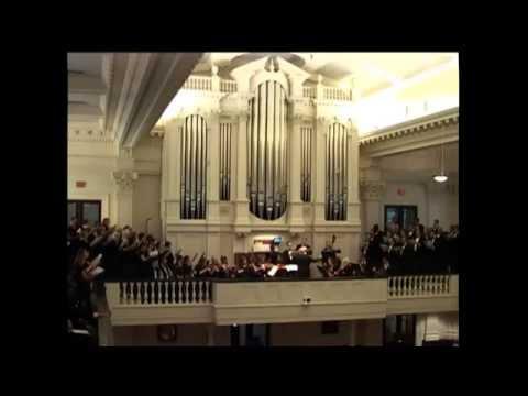The Memorial Concert at 7:00 p.m. May 24 at St. James's in Richmond, VA