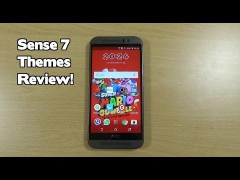 HTC One M9 - Sense 7 Themes Review!