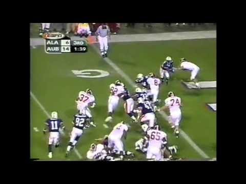 1999 #8 Alabama vs. Auburn Highlights