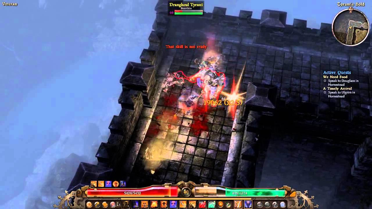 Grim Dawn Lvl 40 2h Blademaster Tyrants Hold Pneumatic Burst