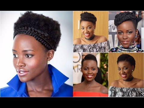 3 SHADES OF LUPITA - HAIRSTYLES FOR SHORT AFRO KINKY HAIR | KIM DAVE