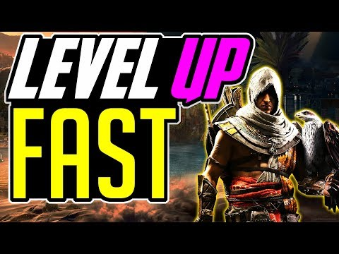 Assassin's Creed Origins LEVEL UP FAST – FASTEST way to LEVEL UP in Assassin's Creed Origins