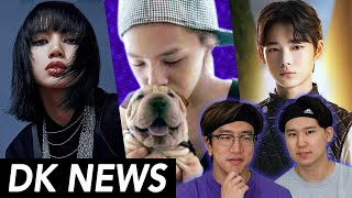 Gambar cover BLACKPINK Breaking Records + Controversy / GD's Dog Mistreated? / I-LAND : IS IT GOOD?  [D-K News]