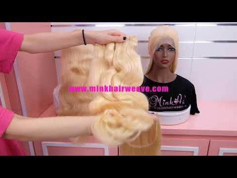 10A Mink Hair Weave 613 Color Body Wave Wholesale Remy ...