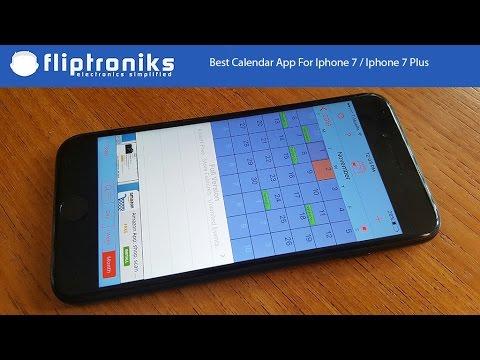 Best Calendar App For Iphone 7 Iphone 7 Plus Fliptroniks Com Youtube