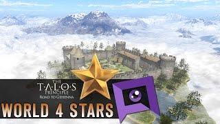 The Talos Principle: Road to Gehenna DLC - Part 8: World 4 Stars